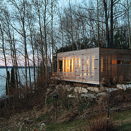 Taylor Smyth Architects - Sunset Cabin