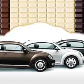 Volkswagen - The Beetle Choco, Milk, Bitter