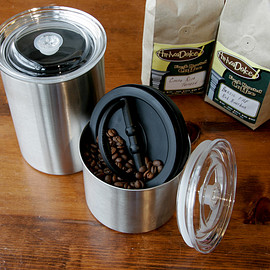 Planetary Design - AirScape Steel Coffee Storage Canister