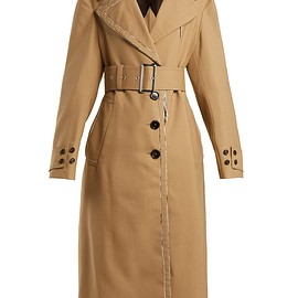 MARNI - FW2018 Belted wool trench coat