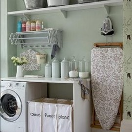 interior - laundry room