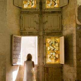 Castle Windows, Avignon, France