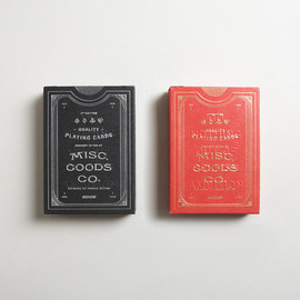 Misc. Goods Co. - Playing Cards