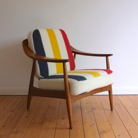 Illum Wikkelso - 1950's Danish lounge chair