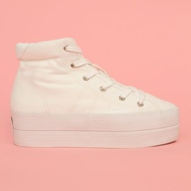 Chloe Sevigny for Opening Ceremony - vision canvas platform sneakers