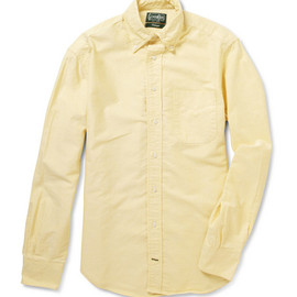 Gitman Vintage - Oxford B.D Shirt / Yellow