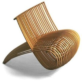 Marc Newson - Bamboo Chair, Idée Edition