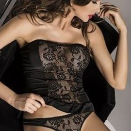 Satin and lace