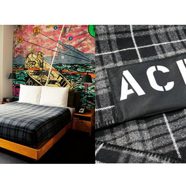 ACE HOTEL - PENDLETON X ACE NYC PLAID BLANKET