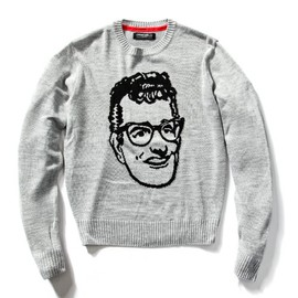 GREASEVILLE! x MACKDADDY - Buddy Holly KNIT SWEATER