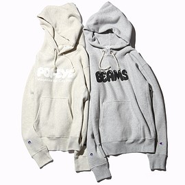 BEAMS, CHAMPION, POPEYE - CHAMPION / Logo Sweat Hoodie