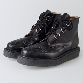 GEORGE COX - D-RING CREEPER BOOTS