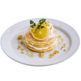 j.s. pancake cafe - Lemon & Ricota Cheese pancake