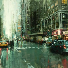 Jeremy Mann - CITYSCAPES / Hell's Kitchen