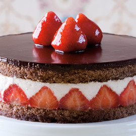 Lindt - Strawberry Coconut Torte