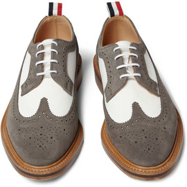 Thom Browne Suede Longwing Brogues