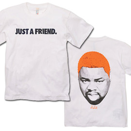 Flatlux - Bizman Tee - White/Orange