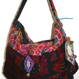 shoulder bag - Gypsy shoulder bag.
