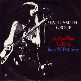 Patti Smith Group - To Be A Rock'N'Roll Star / Frederick Live (EP) - Patti Smith Group