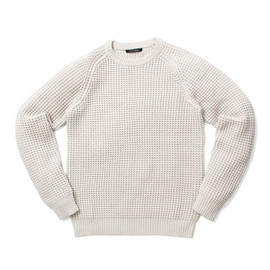 URBAN RESEARCH DOORS - Color Crew Neck Knit