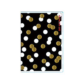 DELFONICS - 2015 Diary - Black/White/Gold Dots