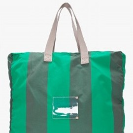 MARC BY MARC JACOBS - トラベルバッグ - green flasher beach tote