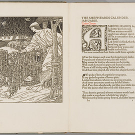 Edmund Spenser - The shepherdess calendar, Kelmscott Press, 1896
