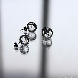 _cthruit - air earring / CL