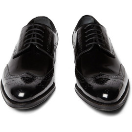Dolce & Gabbana - Patent Leather Wingtip Brogues