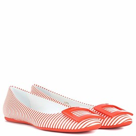 Roger Vivier - Gommette leather ballerinas
