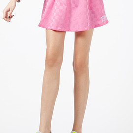 VFILES sport plus - Pink Striker Skirt