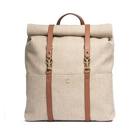 Mismo - M/S Backpack – Linen/Cuoio