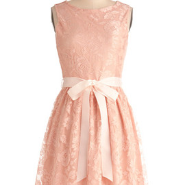 modcloth - Looking Like a Million Bucks Dress in Blush