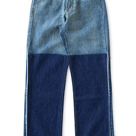 Objects Without Meaning - Straight Leg Patch Jean (blue)