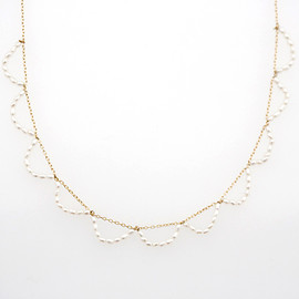 Rubus - Ripples short necklace (waterpearl)