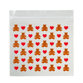 Mrs.Grossman's - ZIP BAG ♡ HEART BEAR