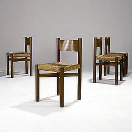 Charlotte Perriand - Meribel chairs, 1940s