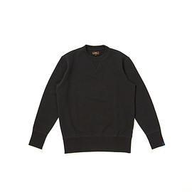 Freemans Sporting Club, Loopwheeler - Crew-Neck Sweatshirt - Black