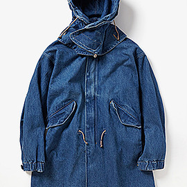 UNUSED - Hooded Denim Coat