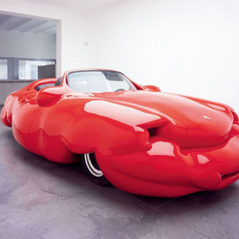 erwin wurm - fat convertible