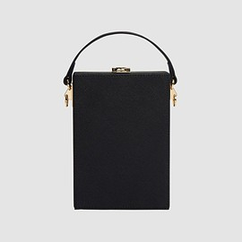 The Daily Edited - Black Vertical Clutch