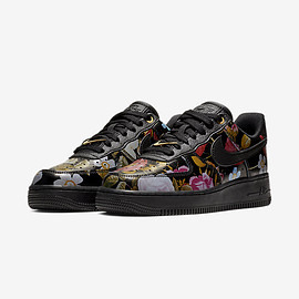 Nike - Wmns Air Force 1 '07 LXX Floral 'Black'