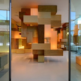 Tatsu Matsuda Architect - Puzzle collections, JAIST Gallery (Japan Institute of Science & Technology)