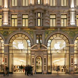 Regent Street, London - Apple Store