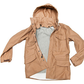 PATRIK ERVELL - Field Coat Army Tan