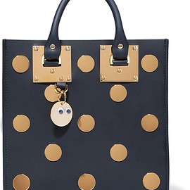 Sophie Hulme - Albion Square embellished leather tote