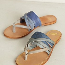 Dip-Dye Sandals - anthropologie.com