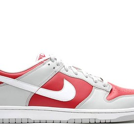 NIKE - DUNK LOW  comet red/white/neutral grey 309431 611