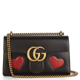 GUCCI - GG Marmont leather shoulder bag