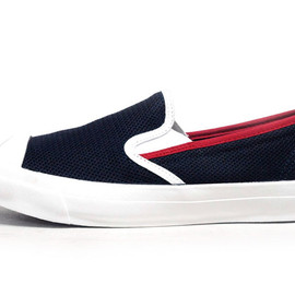 CONVERSE - JACK PURCELL COTTON-MESH SLIP-ON